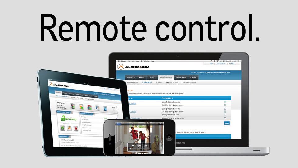 Click here to learn more about remote access